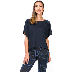 super.natural Motion Peyto Camiseta Mujer, navy blazer